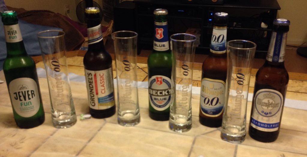 HoppiThek Vergleichstest: Alkoholfreies Pils