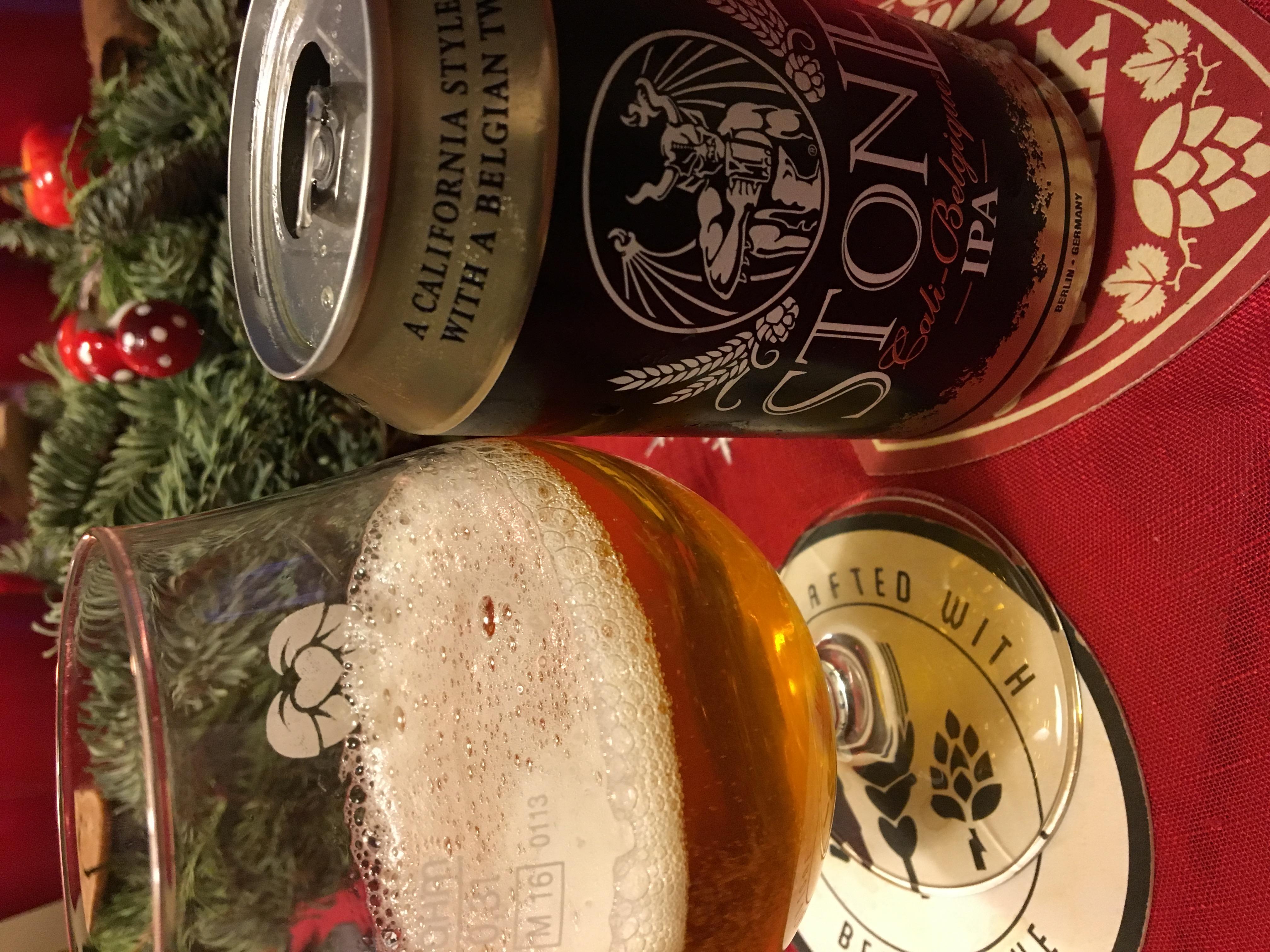 Stone Brewing – Cali-Belgique IPA