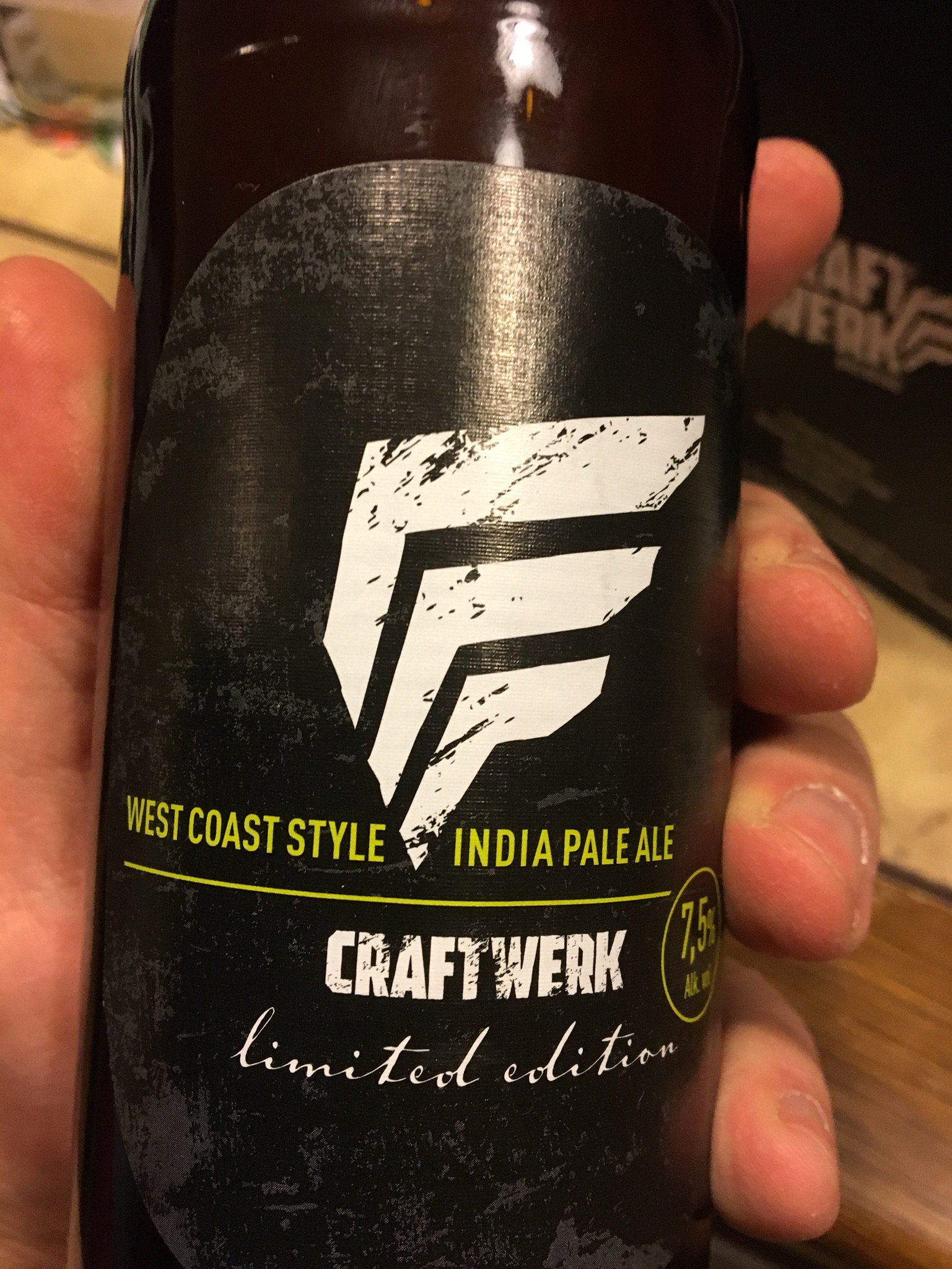 Craftwerk – West Coast Style IPA