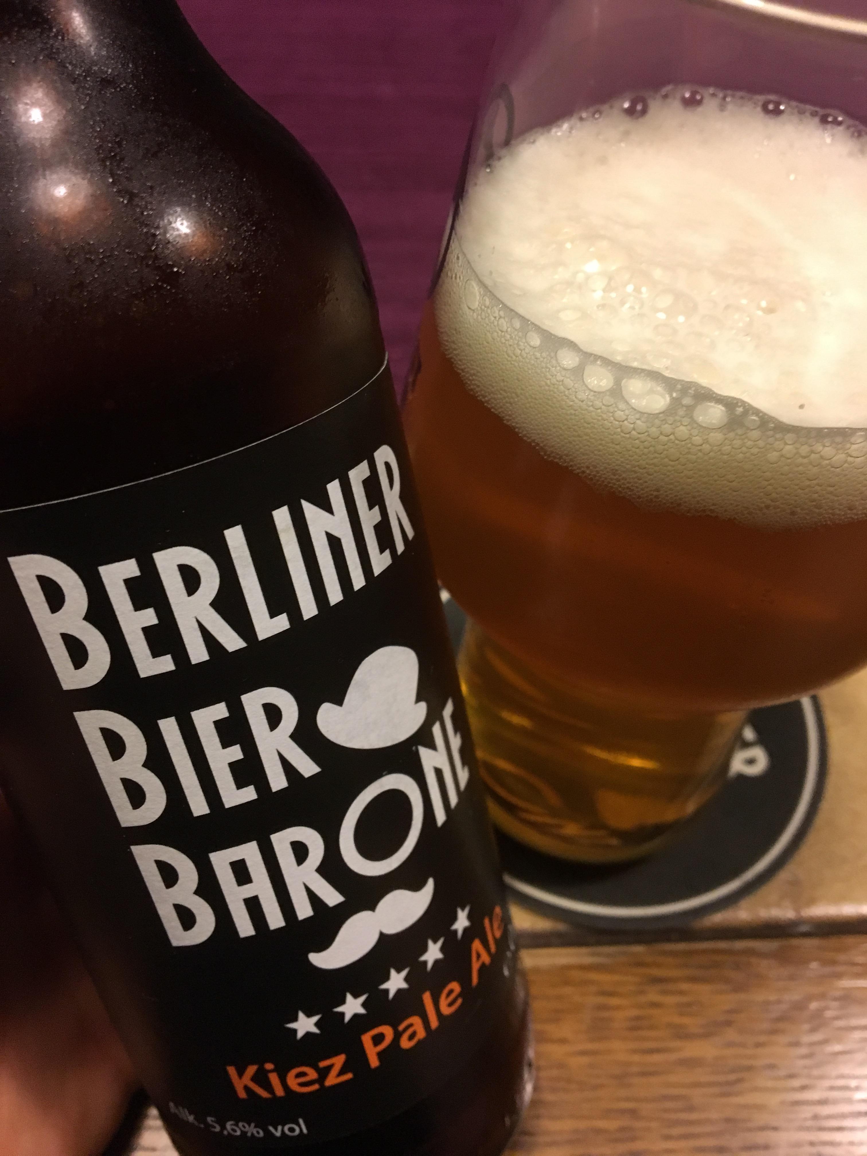 Berliner Bier Barone – Kiez Pale Ale