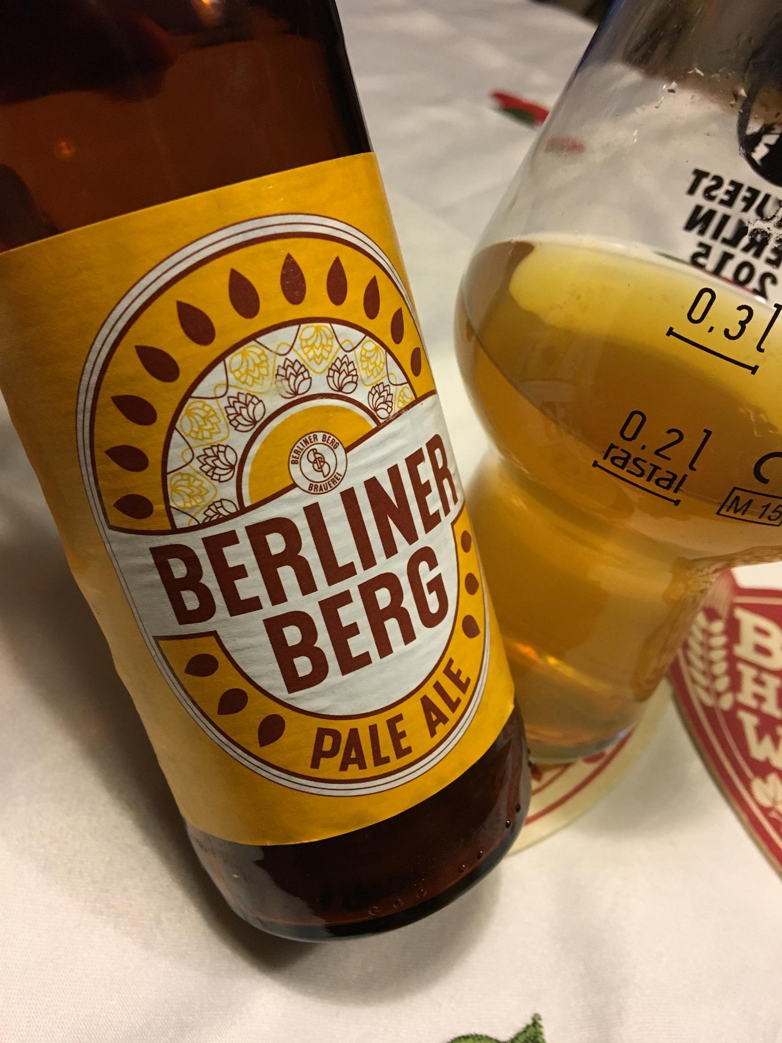 Berliner Berg – Pale Ale