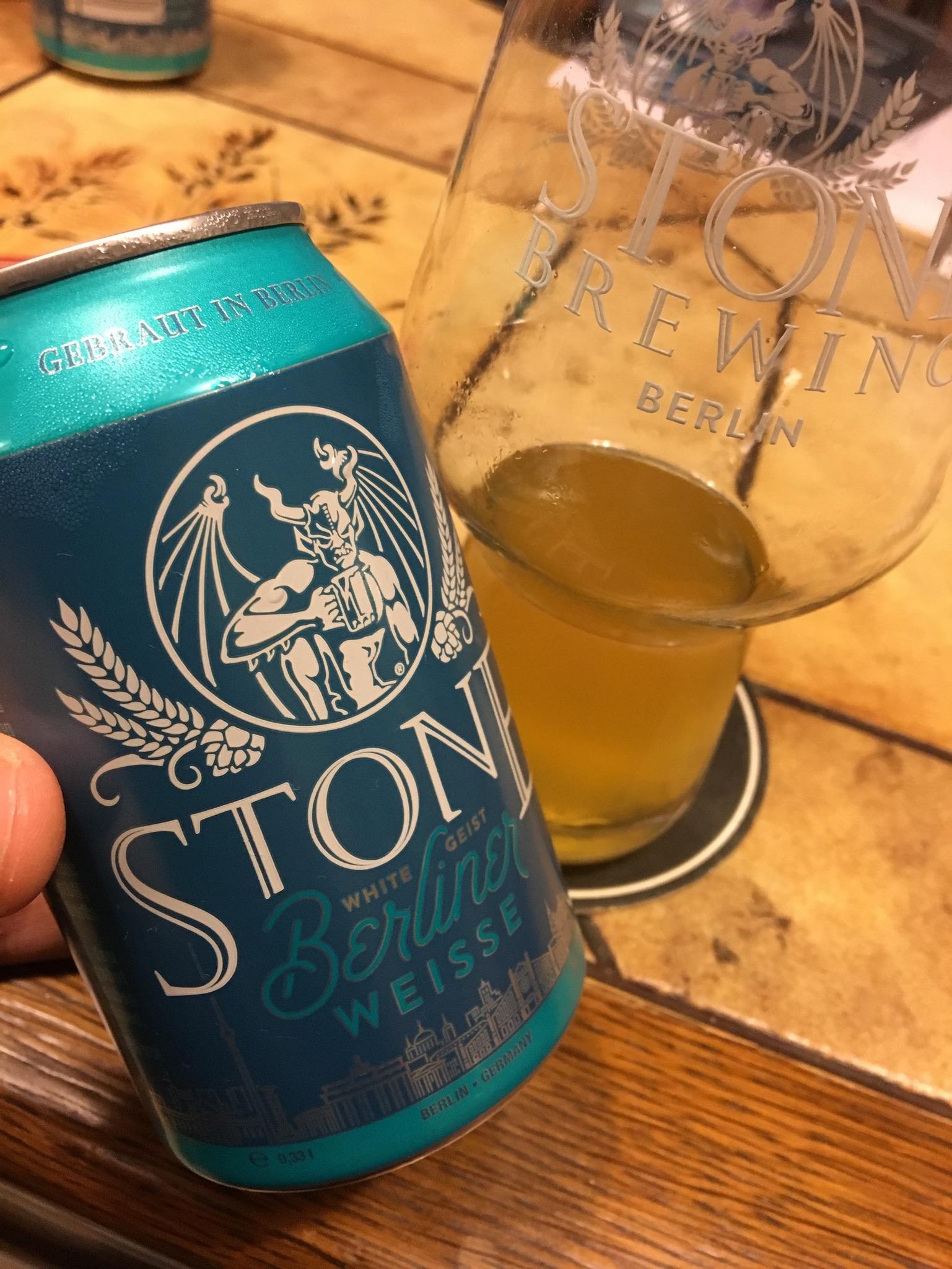 Stone Brewing Berlin – White Geist (Berliner Weisse)