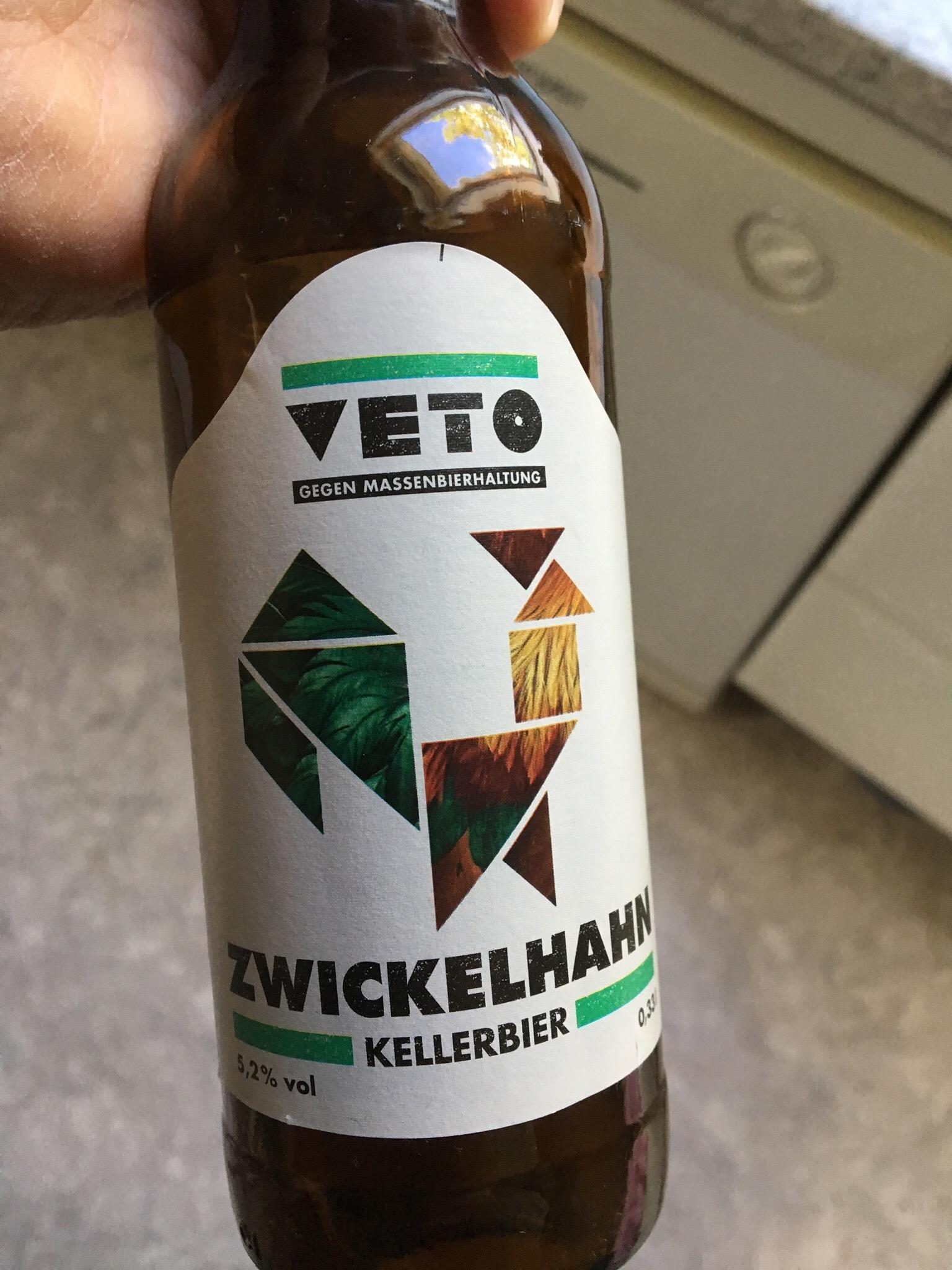 Veto – Zwickelhahn (Live-Biertest Hopferei Hertrich)