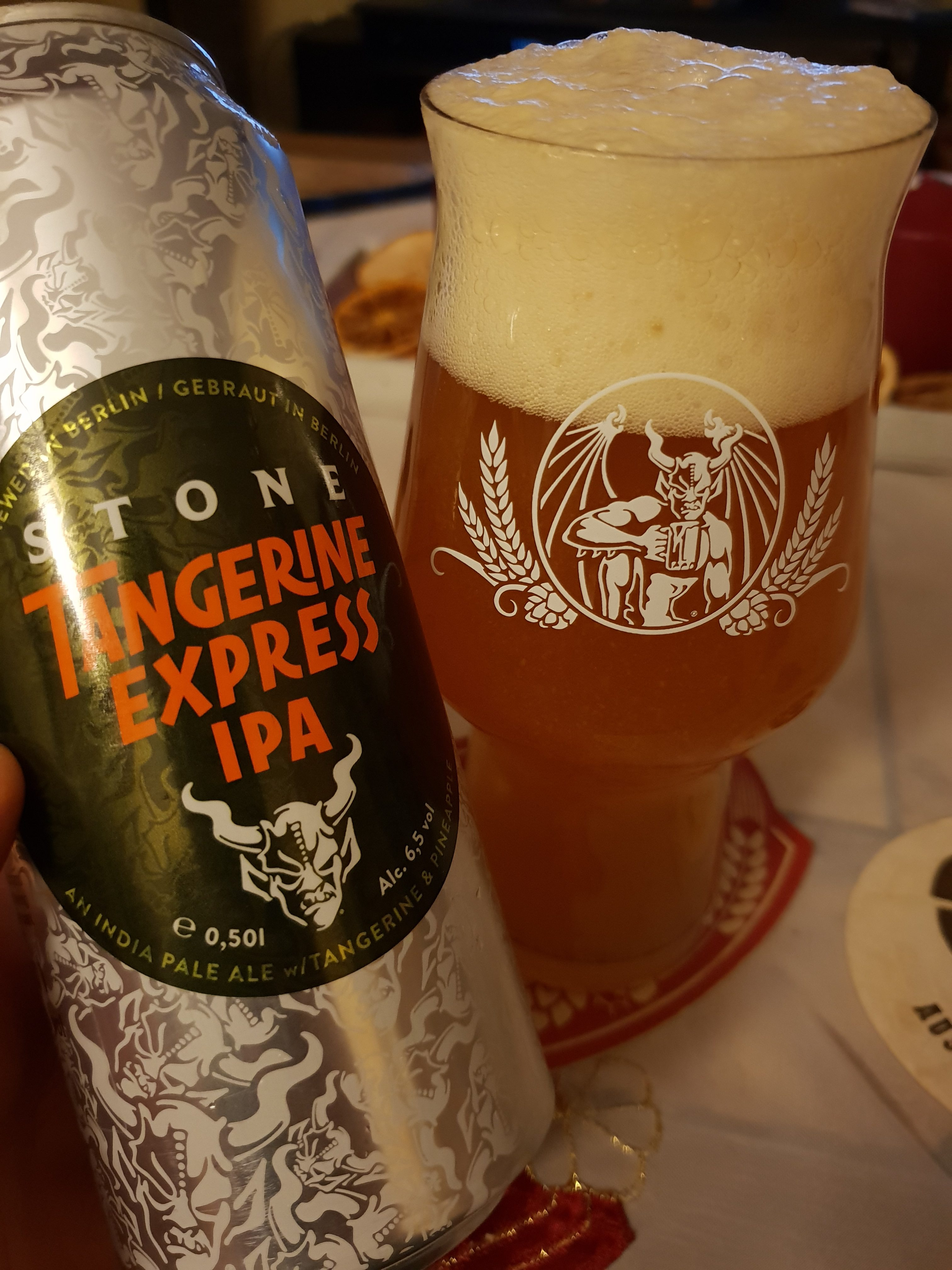 "Stone Brewing – UNIQCAN Series ""Tangerine Express IPA"""