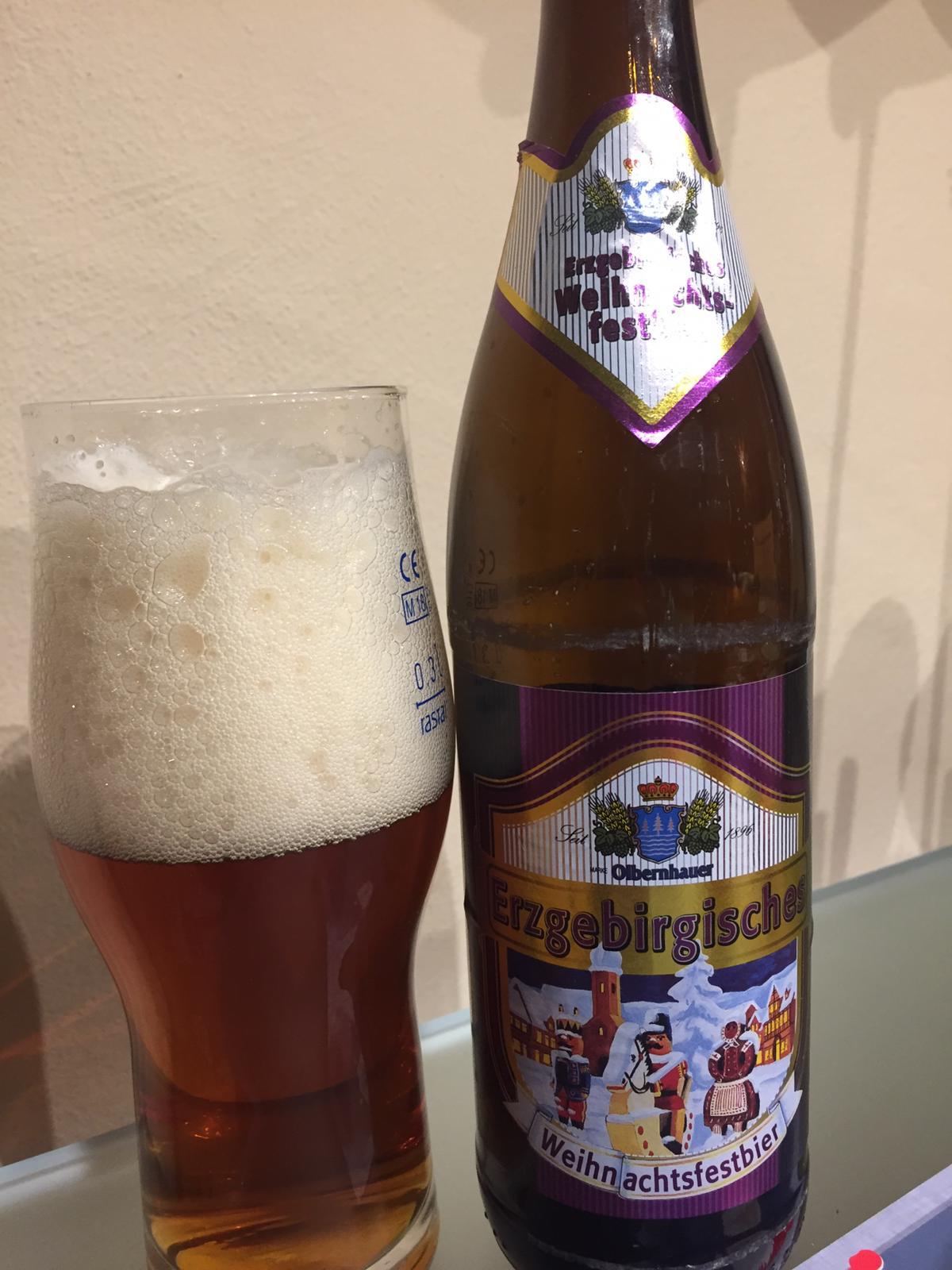 Bieradvent (Zwönitzer Edition) Olbernhauer – Weihnachtsfestbier