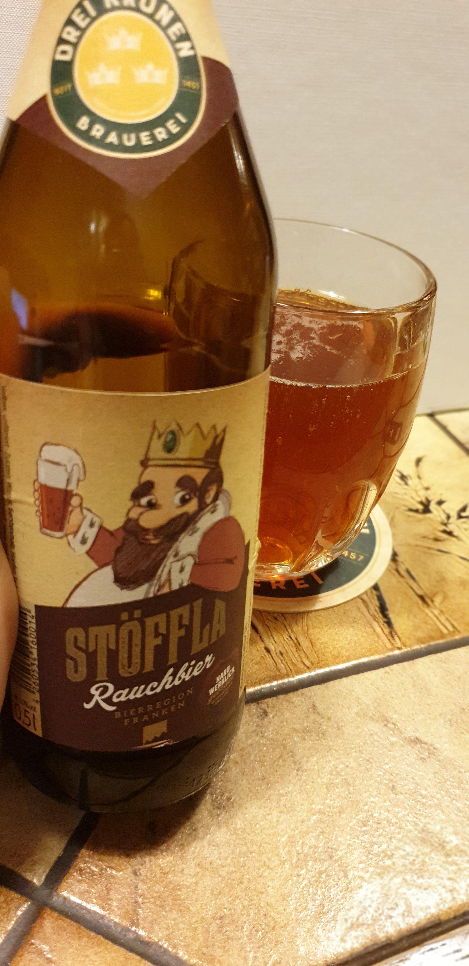Biertestserie Oberfranken: Brauerei Drei Kronen – Stöffla Rauchbier