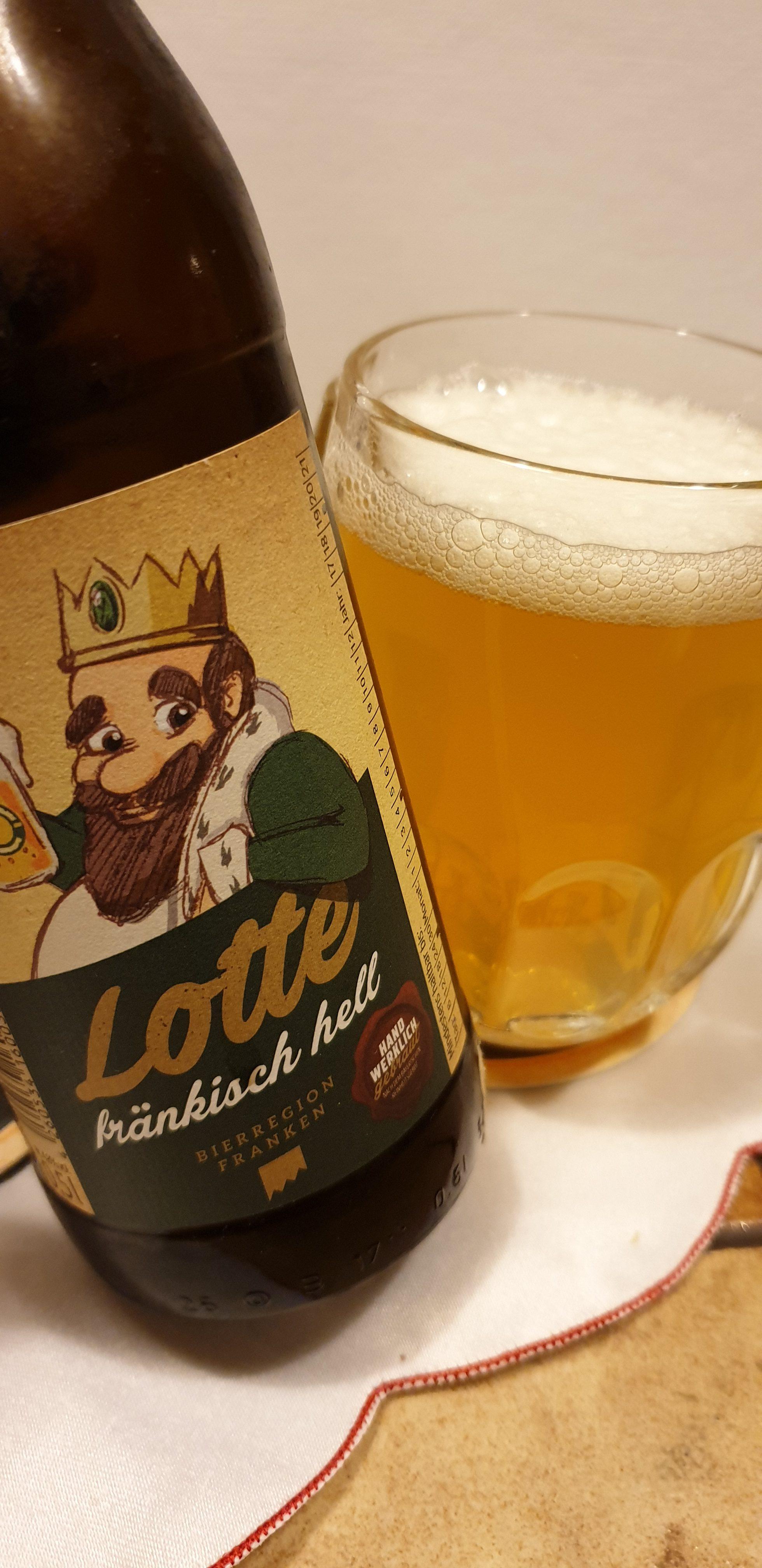 Biertestserie Oberfranken: Brauerei Drei Kronen – Helle Lotte