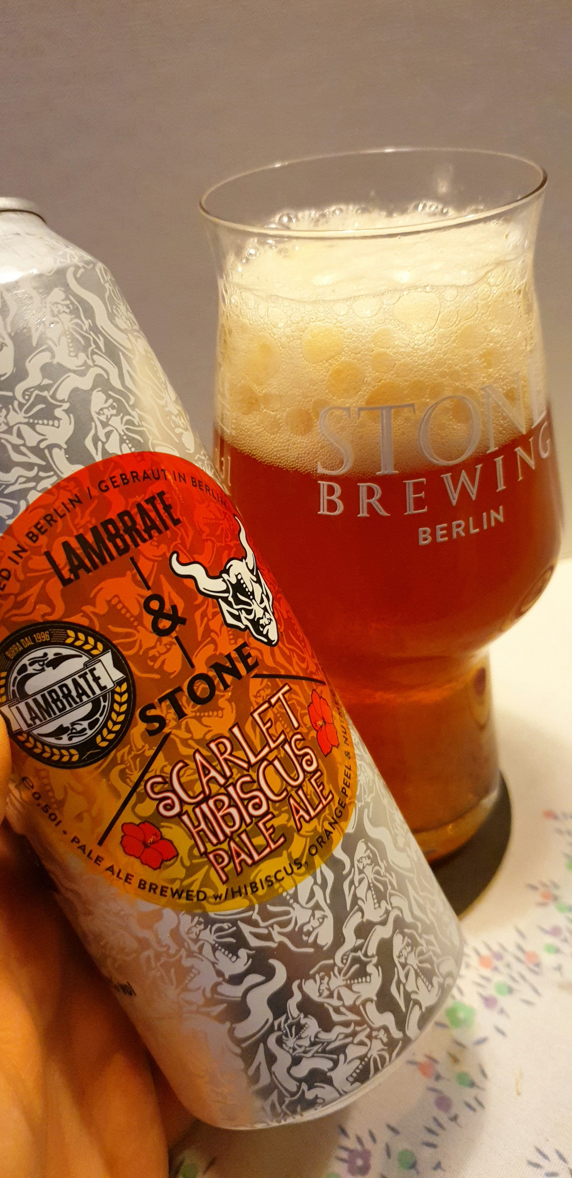 Stone Brewing Berlin – UNIQCAN Series – Scarlet Hibiscus Pale Ale