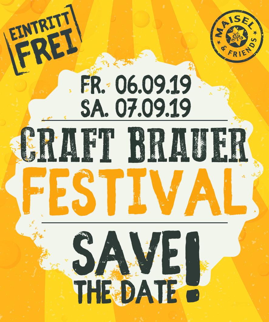 Partner-Werbung: 4. CRAFT BRAUER FESTIVAL in Bayreuth