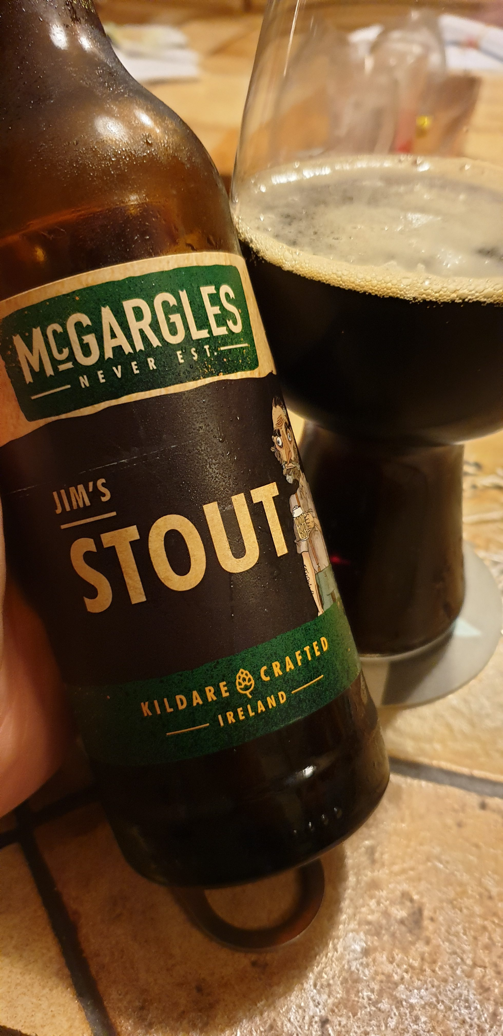 McGargles (Rye River Brewing) – Jim's Stout