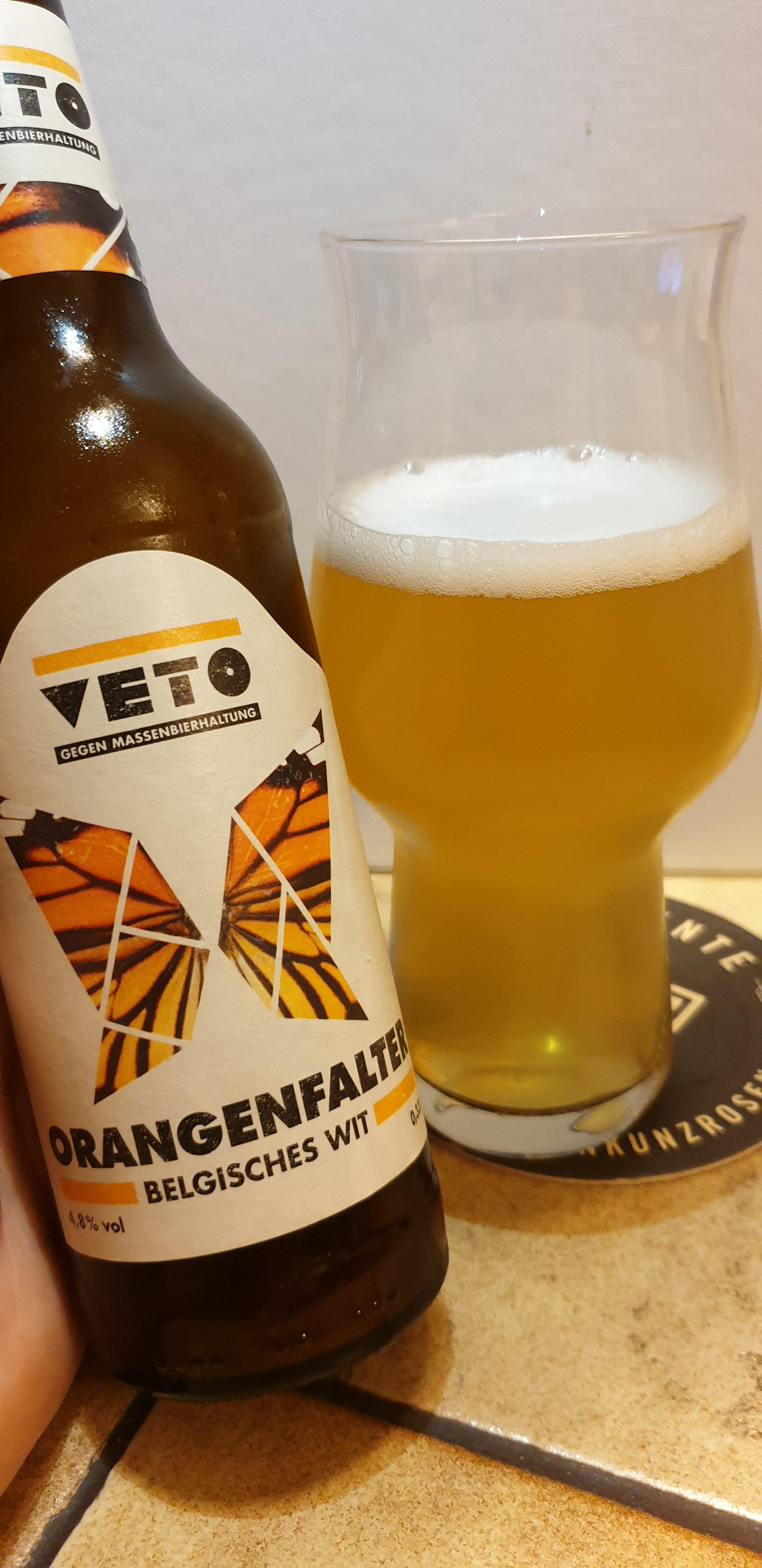 """Hopferei-Hertrich """"Veto"""" – Orangenfalter"""