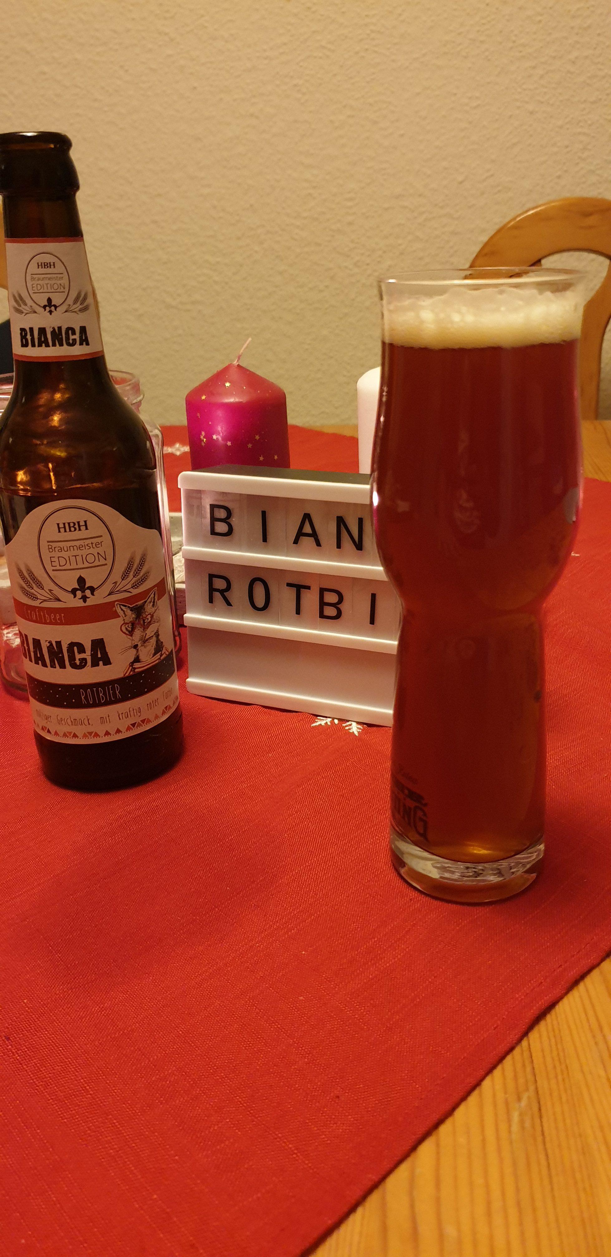 Bierkalender (Craft DE 2019) Hohmanns Brauerei – Bianca Rotbier