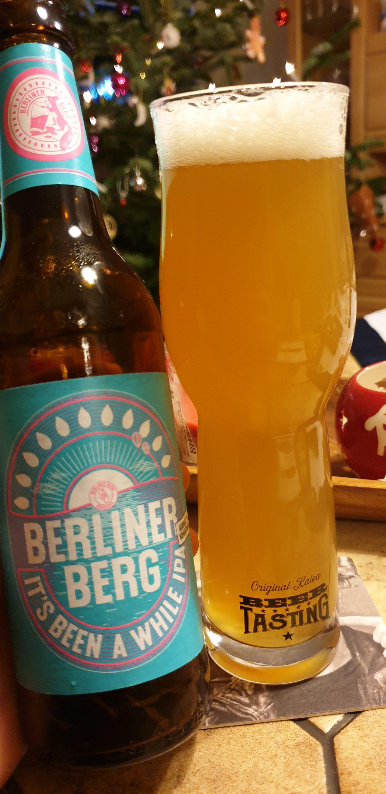 Bierkalender (Craft Edition DE 2019) Berliner Berg – It's been a while IPA
