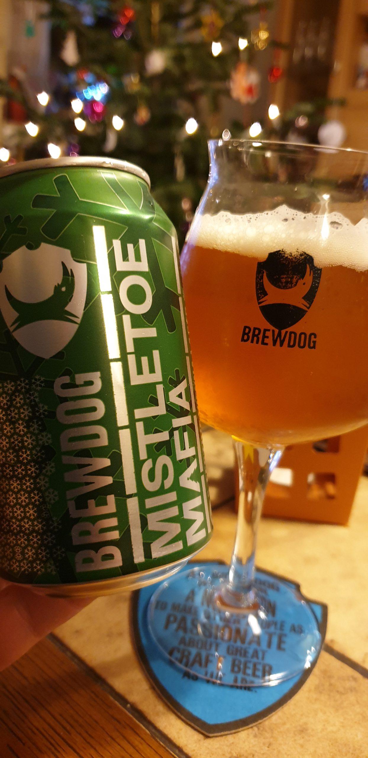 BrewDog (12 Beers of Christmas) Mistletoe Mafia