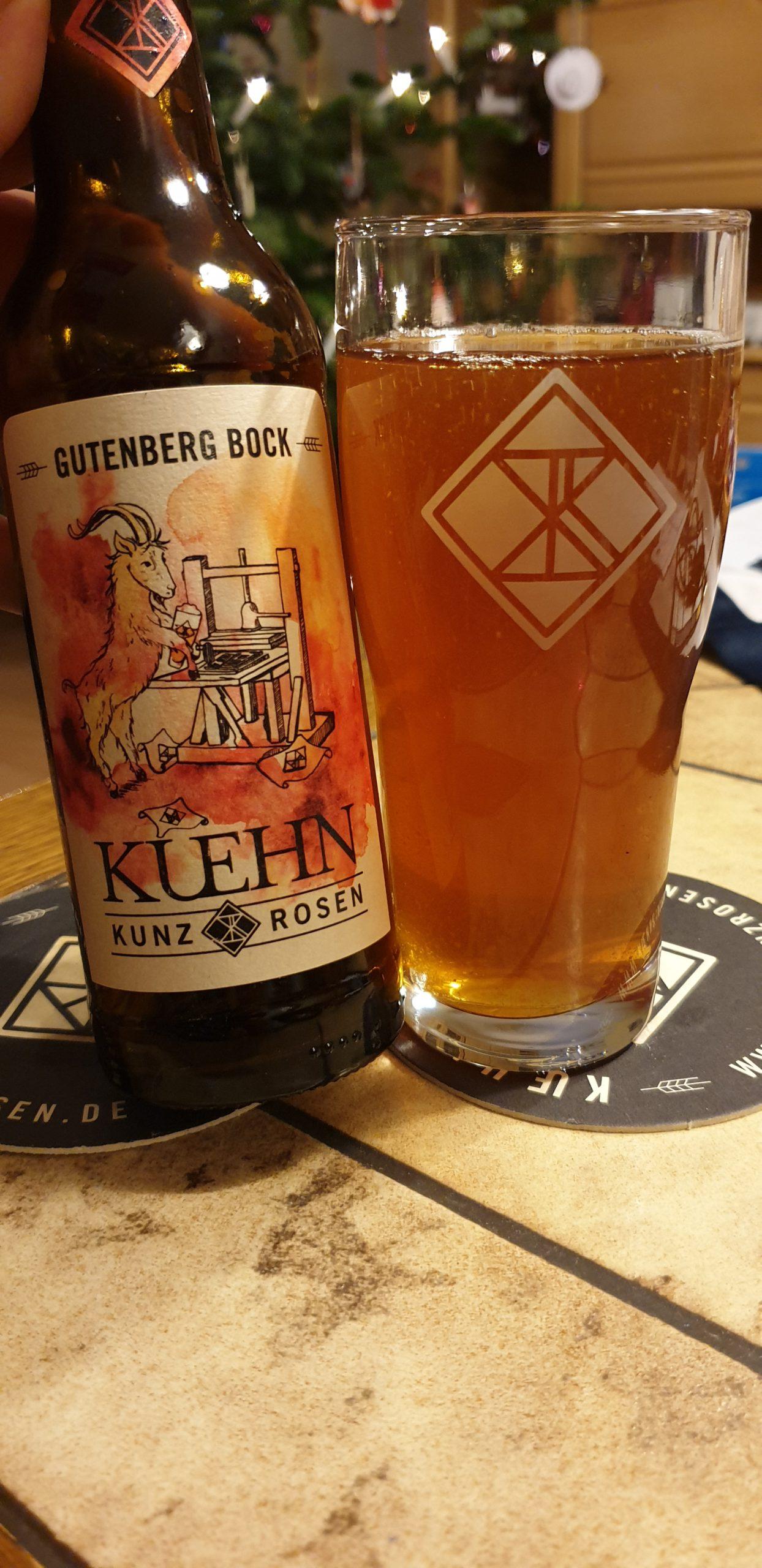 Kuehn Kunz Rosen – Gutenberg Bock