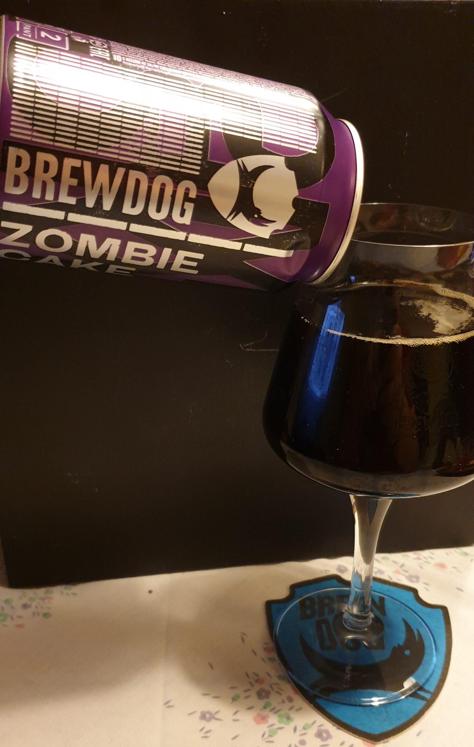 BrewDog (12 Beers of Christmas) – Zombie Cake