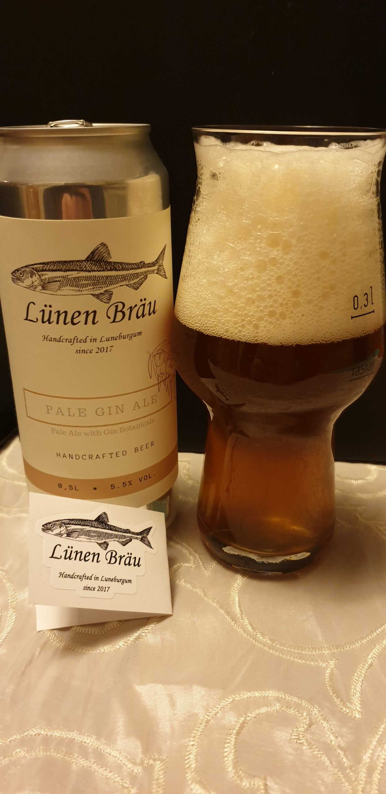 Lünen Bräu – Pale Gin Ale