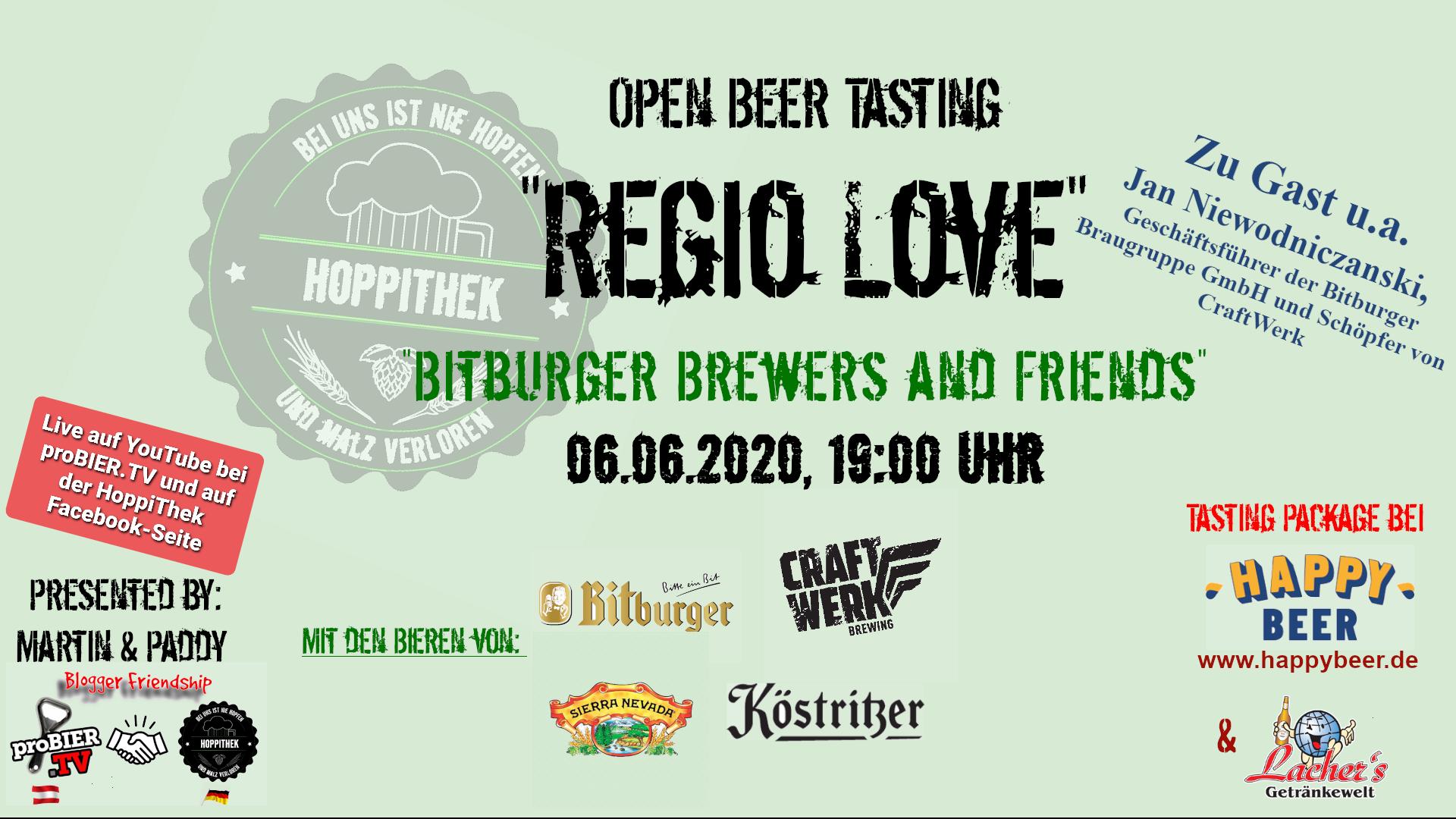 Banner Open Beer Tasting