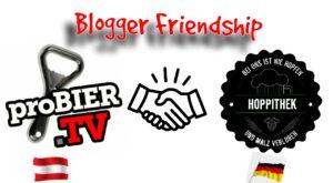 Logo Bloggerfriendship proBIER.TV & HoppiThek