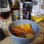 Snacks und Bier